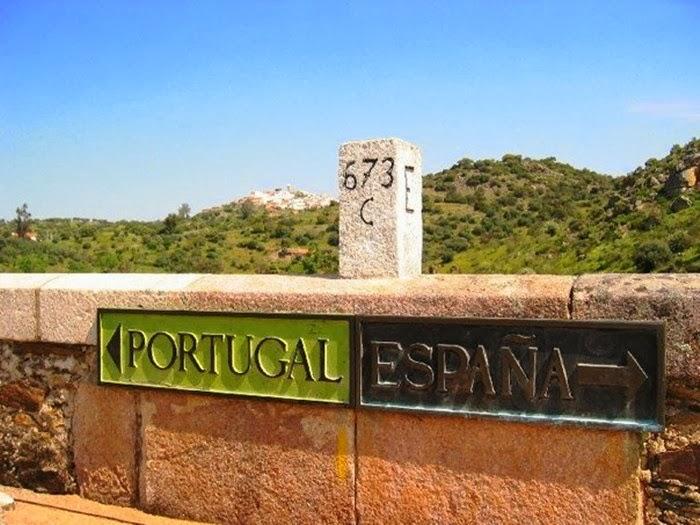 Portugal-spain-border